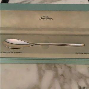 Ercuis of Paris Saint Hilaire Silverplated Spoon